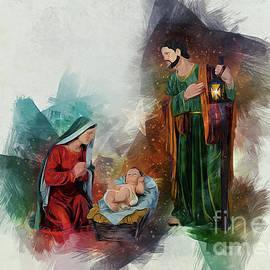 Jesus Is Born by Ian Mitchell