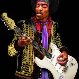Jimi Hendrix by David Arrigoni