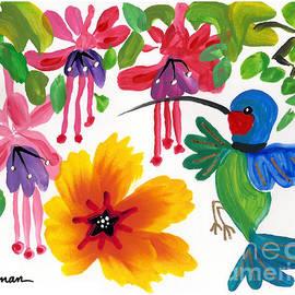 Jody's Garden 1 by A Hillman