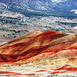 John Day Fossil Beds National Monument by Vishwanath Bhat