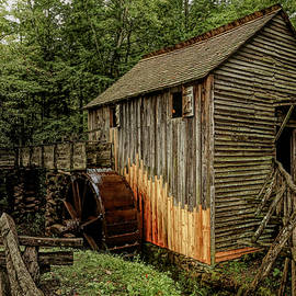 John P. Cable Grist Mill 1 by Judy Vincent