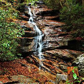 Jones Gap Falls by Ben Prepelka
