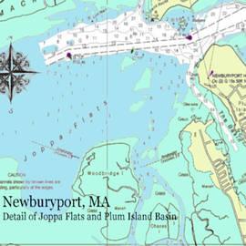 Joppa Flats Map by Jeannine Selig