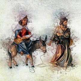 Journey to Bethlehem by Ian Mitchell