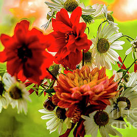 JOY of SUMMER FLOWERS # 1. by Alexander Vinogradov