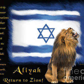 Judah Regathers Israel  by Constance Woods
