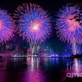 Fireworks in New York by Stef Ko
