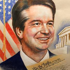 Justice Brett Kavanaugh by Robert Korhonen