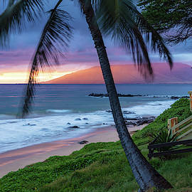 Kamaole Beach Sunset Maui by Pierre Leclerc Photography