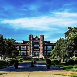 Kansas Wesleyan Campus by Jon Burch Photography