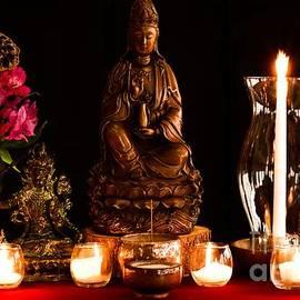 Kanzeon Bosatsu - Zen Altar by Lita Kelley