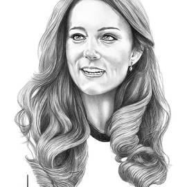 Kate Middleton Catherine Duchess of Cambridge by Murphy Elliott