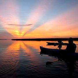 Kayak Dawn by Matt Richardson