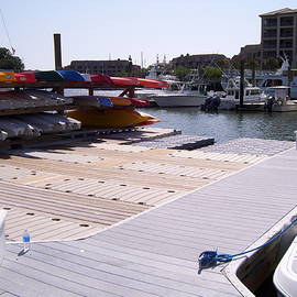 Kayak Dock by Terry Cobb