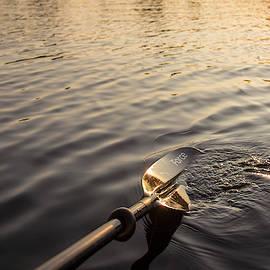 Kayak Paddle by Stephanie McDowell