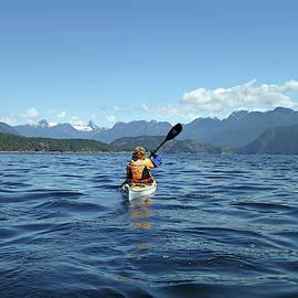 Kayaking into Desolation Sound, BC by Curt Remington