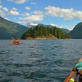 Kayaking Ross Lake by Curt Remington