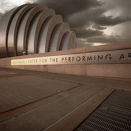 Kc Kauffman Center - Vintage by Gregory Ballos