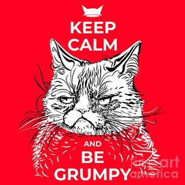 Keep calm and be grumpy by Vladimir Evdokimov