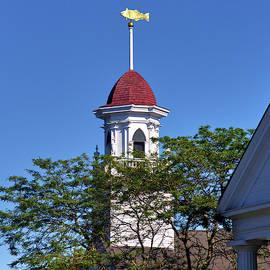 Kennebunkport Church  by Robert McCulloch