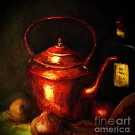 The Red Kettle by Hazel Holland