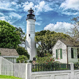 Key West Lighthouse by George Moore