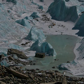 Khumbu Icefalls, EBC, Nepal by Leslie Struxness