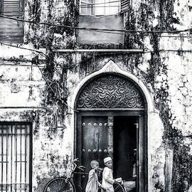 Kids walking - Stonetown Zanzibar 3620 by Neptune - Amyn Nasser Photographer
