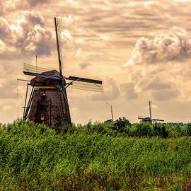 Kinderdijk Windmills by Karen Regan