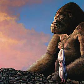 King Kong Painting by Paul Meijering