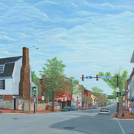 King Street Old Town Alexandria by Aicy Karbstein