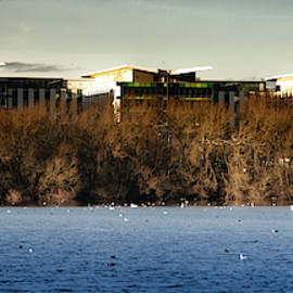 Kings Mill Hospital Nottinghamshire Landscape by Scott Lyons