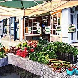 Kingston Ny - Farmers Market by Susan Savad