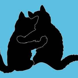 Kitty Hugs by Ericamaxine Price