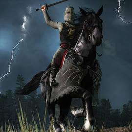 Knight Attack by Daniel Eskridge