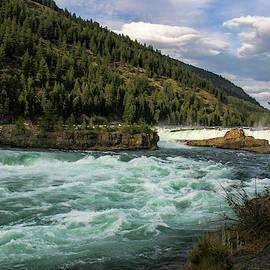 Kootenai River Rapids  by Amy Sorvillo