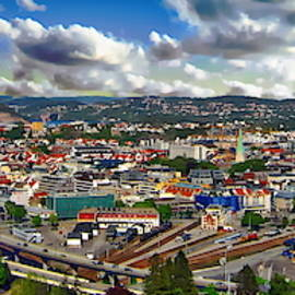 Kristiansand Panorama by Anthony Dezenzio