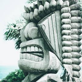 Ku Tiki Retro Powder Blue Kuau by Sharon Mau