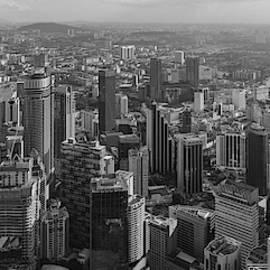 Kuala Lumpur Skyline by Georgia Fowler