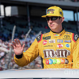 Kyle Busch On His Parade Lap by Paul Quinn
