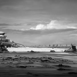 La Jolla Children's Pool and Clouds by William Dunigan