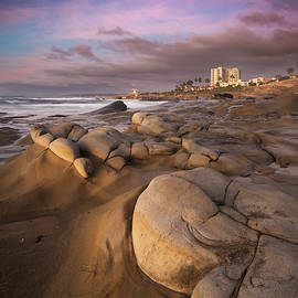 La Jolla Rocky coast by William Dunigan
