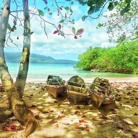 La Playita Beach by Norma Brandsberg