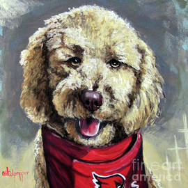 Labradoodle  by Cat Culpepper