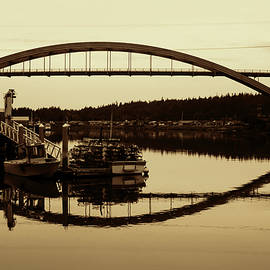 LaConner Sepia by Cathy Anderson