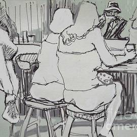 Shirl Solomon - Ladies at a Bar