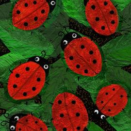 Lady Bugs by Lisa Hinshaw