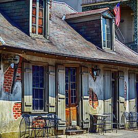 Lafitte's blacksmith shop by Minnetta Heidbrink