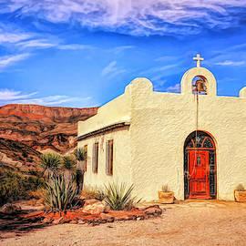 Lajitas Chapel 3 HDR by Judy Vincent