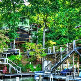 Lake Burton The Tree House Retreat Home Living Art by Reid Callaway